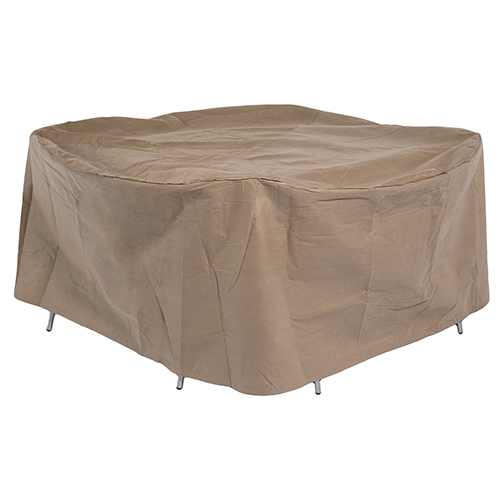 Essential Round Patio Table with Chairs Set Cover