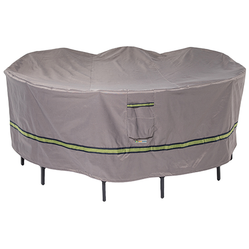 Soteria RainProof Round Patio Table with Chairs Cover