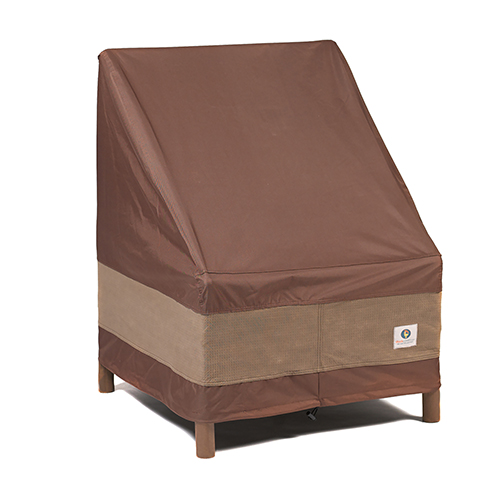Ultimate Mocha Cappuccino 32 In. Patio Chair Cover