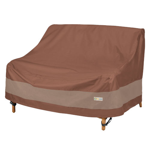 Ultimate Mocha Cappuccino 58-Inch Deep Loveseat Cover