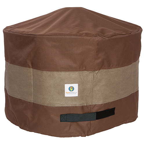 Ultimate Mocha Cappuccino 36 In. Round Fire Pit Cover