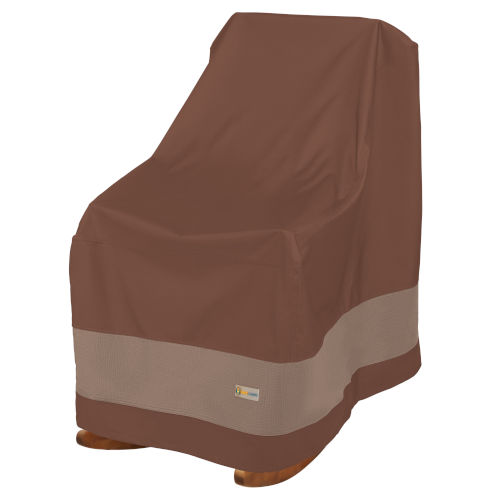 Ultimate Mocha Cappuccino 32-Inch Rocking Chair Cover