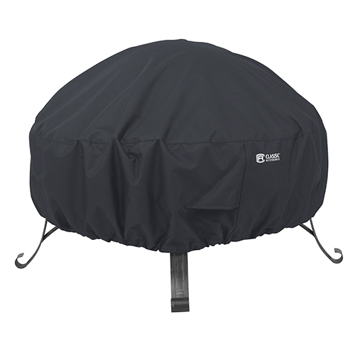 Fantastic Poplar Black Large Full Coverage Round Fire Pit Cover Uwap Interior Chair Design Uwaporg