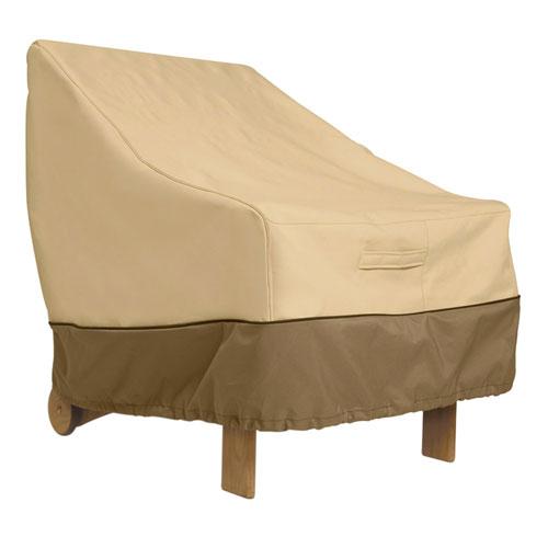 Ash Pebble and Bark Medium Patio Lounge Chair Cover