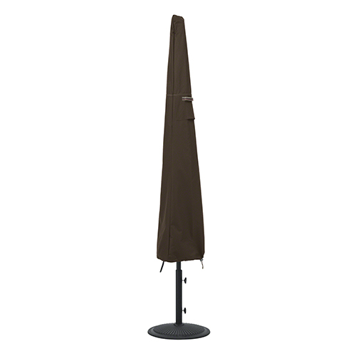 Willow Birch Dark Cocoa RainProof Patio Umbrella Cover