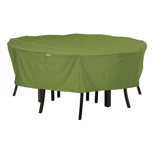 Poplar Herb Garden Medium Round Patio Table and Chair Set Cover