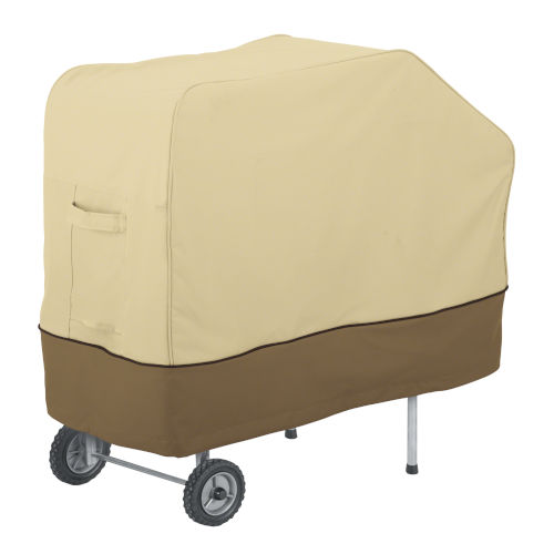Ash Beige and Brown PK Grill and Smoker Center Cover