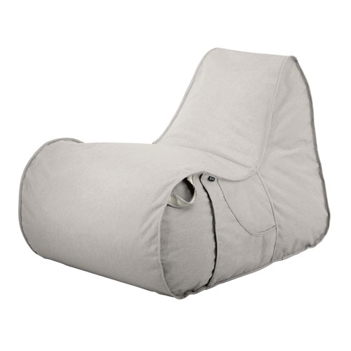 Elm Heather Gray Fade Safe Frameless Furniture Outdoor Patio Chair