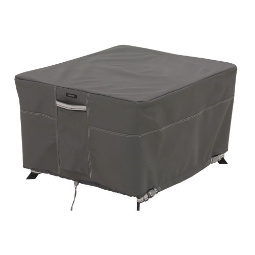 Maple Dark Taupe Square Patio Table Cover