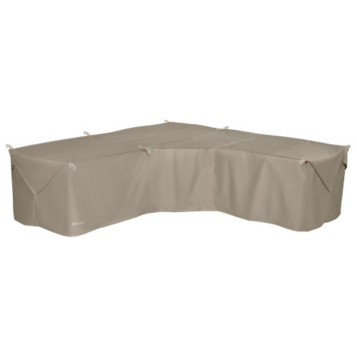 Poplar Goat Tan 100-Inch Sectional Lounge Set Cover