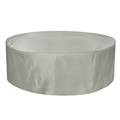 Maple Grey Round Table and Chair Cover