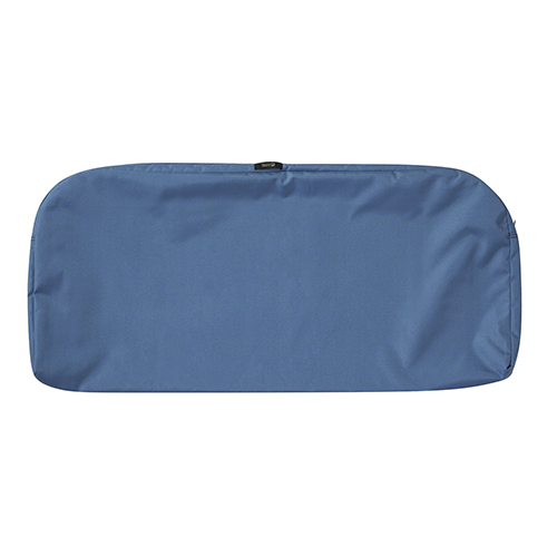 Maple Empire Blue 41 In. x 18 In. Patio Bench Settee Cushion Slip Cover
