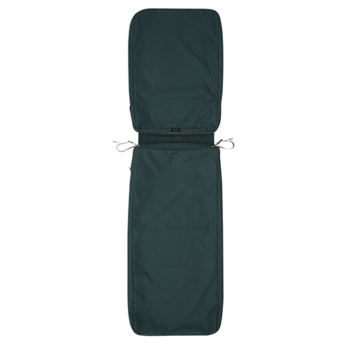 Maple Mallard Green 72 In. x 21 In. Patio Chaise Lounge Cushion Slip Cover