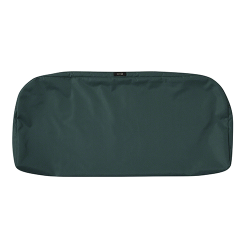Maple Mallard Green 41 In. x 18 In. Patio Bench Settee Cushion Slip Cover