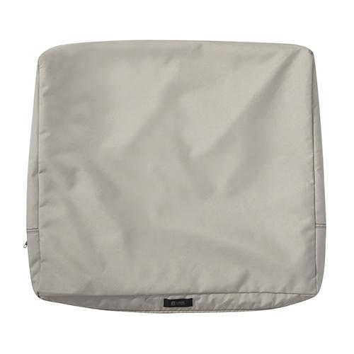 Maple Mushroom 25 In. x 22 In. Patio Back Cushion Slip Cover