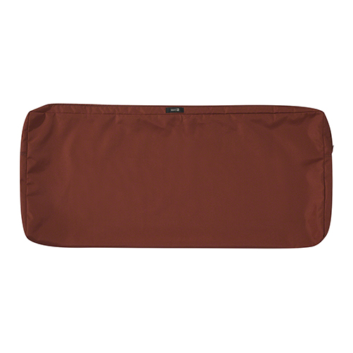 Maple Spice 48 In. x 18 In. Patio Bench Settee Cushion Slip Cover