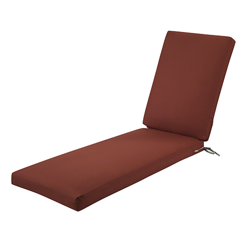 Maple Spice 72 In. x 21 In. Patio Chaise Lounge Cushion