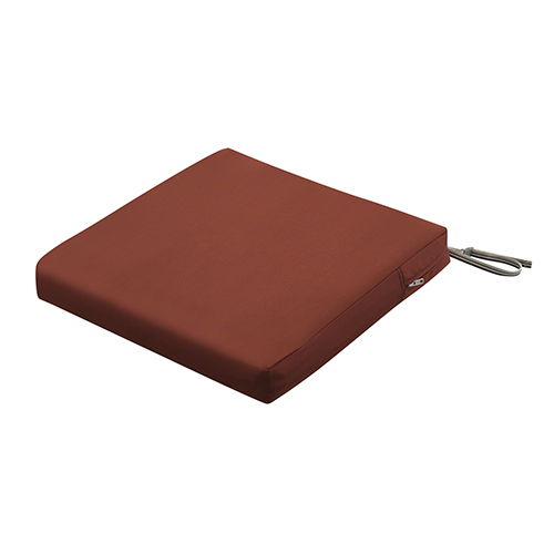 Maple Spice 19 In. x 19 In. Square Patio Seat Cushion