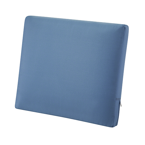 Maple Empire Blue 25 In. x 20 In. Patio Back Cushion