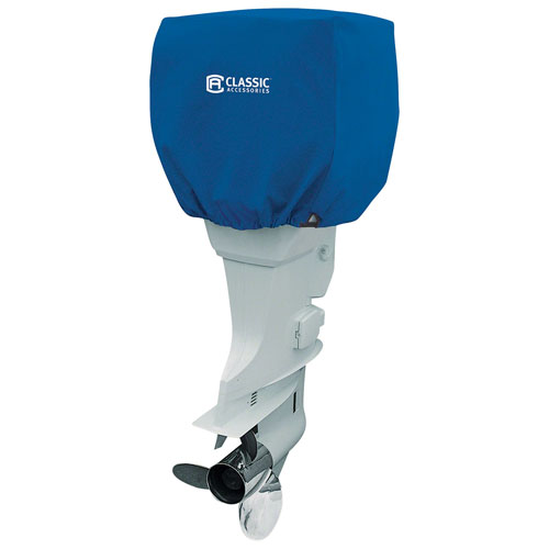 Cypress Blue Model 4 Outboard Boat Motor Cover