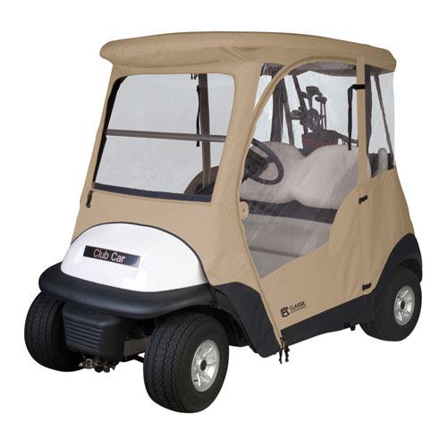 Cypress Sand Club Car Precedent Golf Car Enclosure