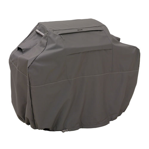 Classic Accessories Bbq Grill Cover Taupe - Med