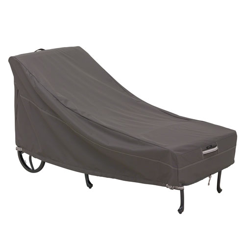 Classic Accessories Patio Chaise Cover Taupe - 1 Size