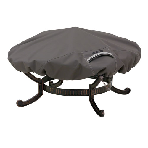 Classic Accessories Fire Pit Cover Taupe - Large