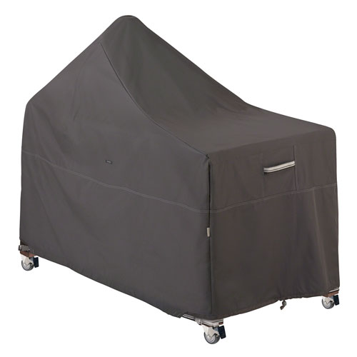 Classic Accessories Grill w/ Offset Table Cover Taupe- 1 Size