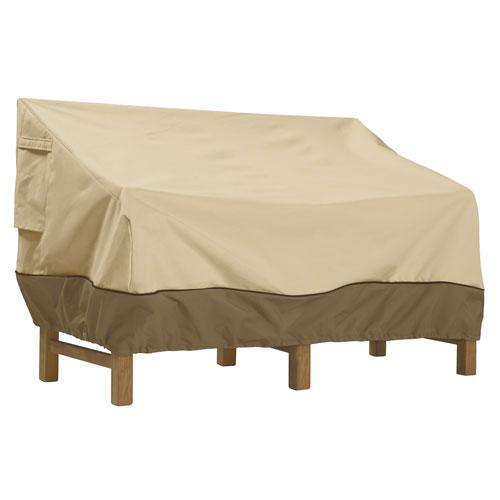 Veranda Earth Toned Patio Sofa Cover, X-Large