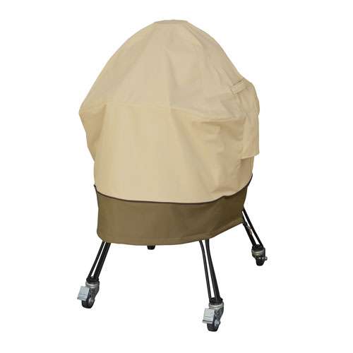Ash Earth Toned X-Large Green Egg Ceramic Grill Cover