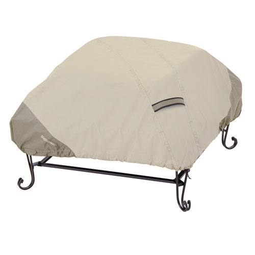 Belltown Sidewalk Grey Square Fire Pit Cover