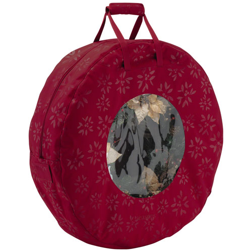 Seasons Cranberry Wreath Storage Bag