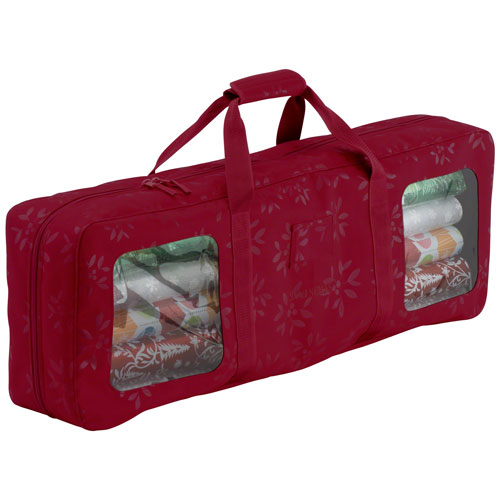 Seasons Cranberry Wrapping Supplies Organizer