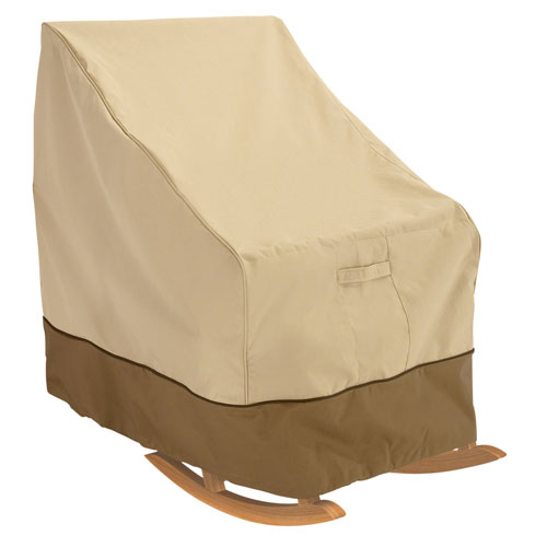 Ash Earth Toned Patio Rocker Chair Cover
