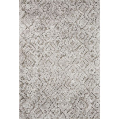 Caspia Silver Rectangle: 5 Ft. x 7 Ft. 6 In. Rug