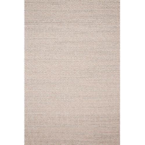 Cole Blush and Ivory 5 Ft. x 7 Ft. 6 In. Power Loomed Rug