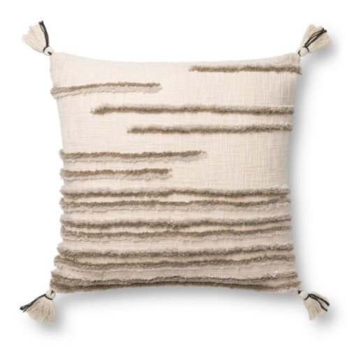 Natural and Stone Machine Made Pillow