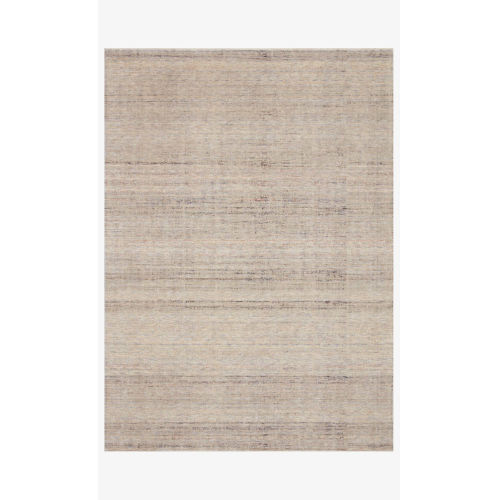 Faye Natural and Sky Round: 2 Ft. 8 In. x 2 Ft. 8 In.  Rug