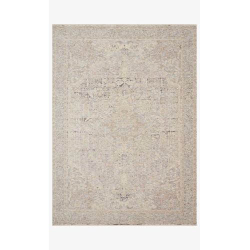 Faye Ivory and Multicolor Rectangle: 9 Ft. 6 In. x 13 Ft. 1 In. Rug