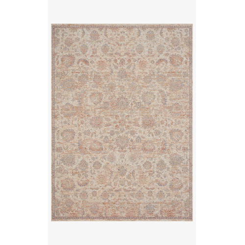Faye Beige and Multicolor Rectangle: 5 Ft. 3 In. x 7 Ft. 9 In. Rug