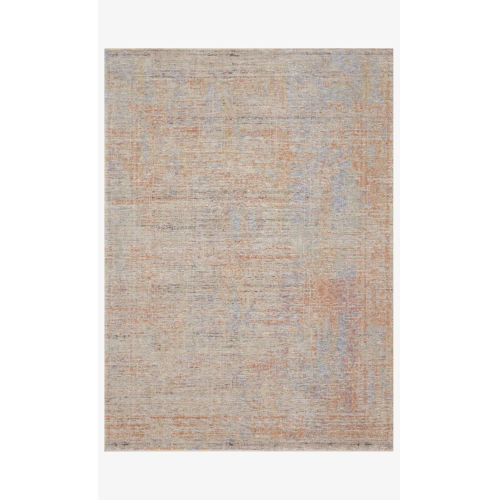 Faye Santa Fe and Blue Round: 2 Ft. 8 In. x 2 Ft. 8 In.  Rug