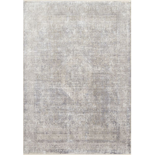 Franca Silver and Pebble Runner 2Ft. 7In. x 9Ft. 6In. Rug