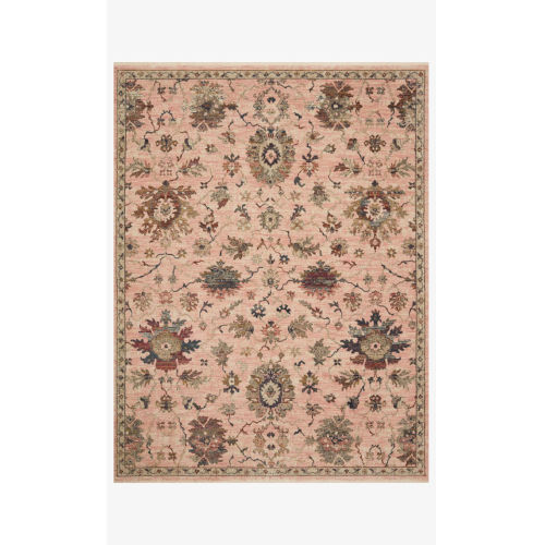 Giada Blush and Multicolor Rectangle: 9 Ft. x 12 Ft. Rug