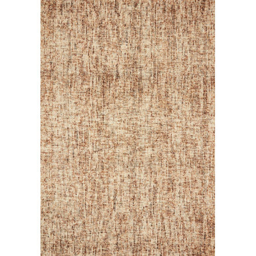 Harlow Rust Charcoal Rectangular: 7 Ft. 9 In. x 9 Ft. 9 In. Rug