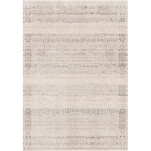 Homage Ivory Silver Rectangular: 3 Ft. 9 In. x 5 Ft. 9 In. Rug