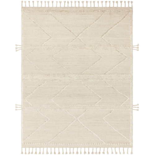Iman Beige Ivory Square: 1 Ft. 6 In. x 1 Ft. 6 In. Rug