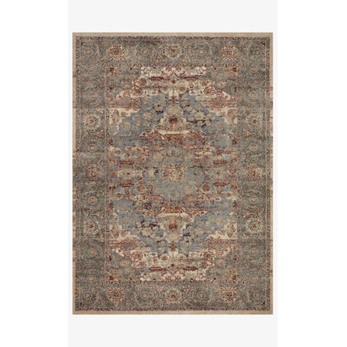 Jasmine Slate and Brick Rectangle: 3 Ft. 7 In. x 5 Ft. 7 In. Rug
