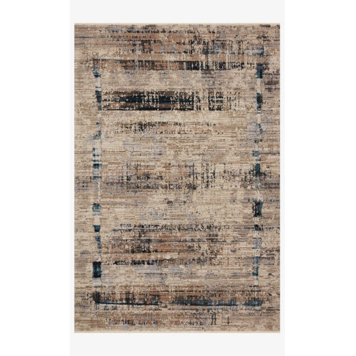 Leigh Granite and Slate Rectangle: 6 Ft. 7 In. x 9 Ft. 6 In. Rug