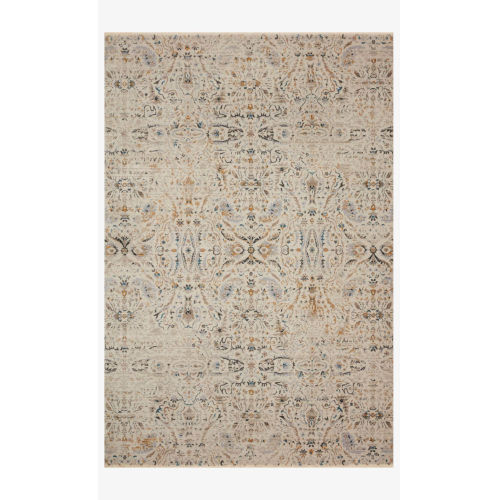 Leigh Ivory and Straw Rug